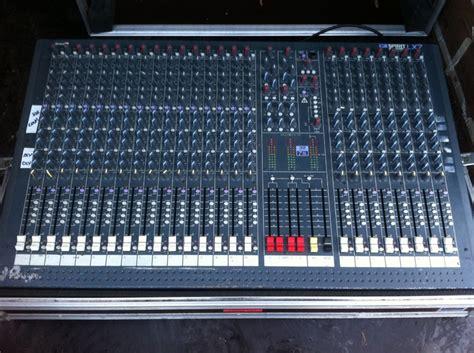 Mixer Soundcraft Spirit Lx7 24 Cnl soundcraft spirit lx7 24 image 817057 audiofanzine
