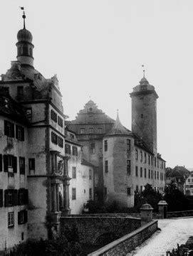 bw bank bad mergentheim bad mergentheim deutschordensschloss um 1900 detailseite