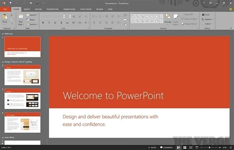 design powerpoint 2016 powerpoint 2016 on windows 10 windows mode