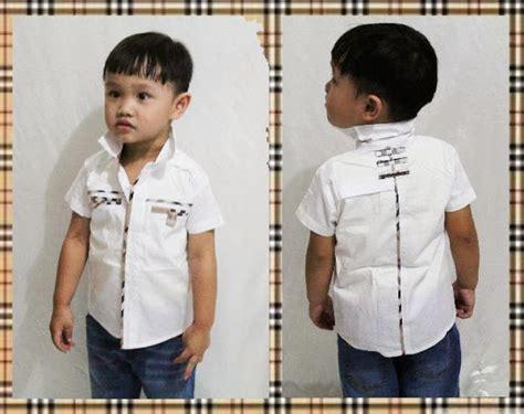 Kemeja Anak Cowo jual baju anak umur setahun 1 th pakaian anak balita