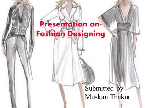 fashion illustration ppt fashion design powerpoint authorstream