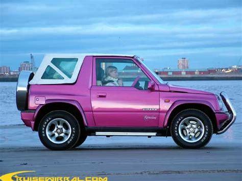 Pink Suzuki Vitara Scoobys B Tch Suzuki Vitara Rossini Wirral