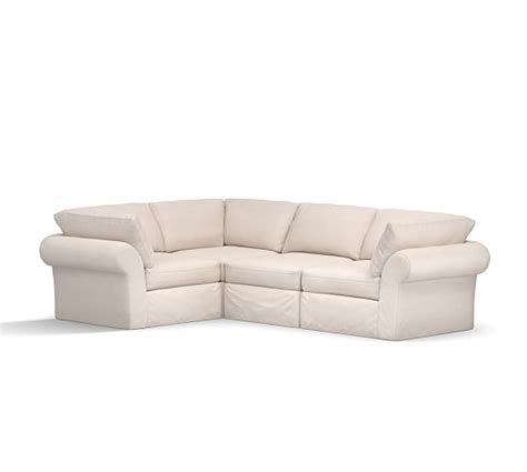 air sectional pb air sectional slipcovers only pottery barn