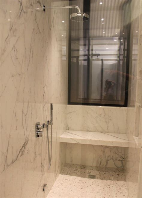 stone shower bench marble shower with bench for the home pinterest