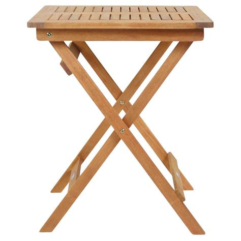 2 square folding table square foldable wooden garden table buydirect4u