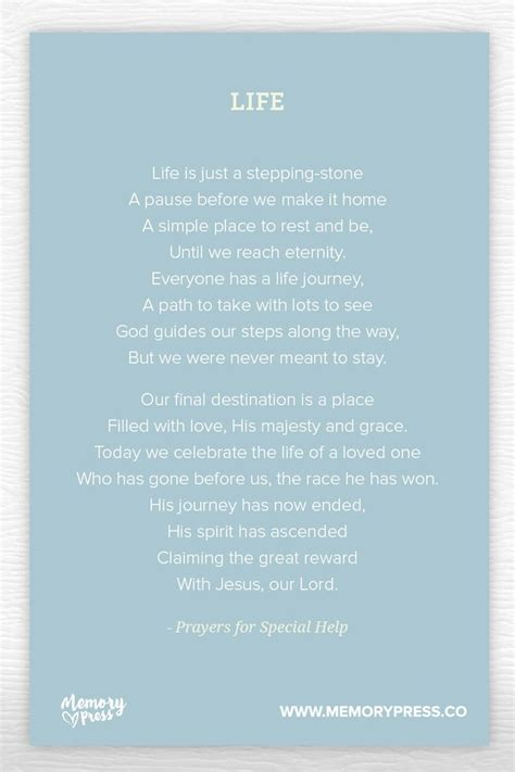 Prayer Of Comfort At A Funeral by 14 Best Images About Religious Funeral Poems On
