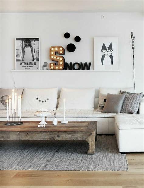 regal hinter sofa wandgestaltung wohnzimmer 20 kreative wanddeko ideen