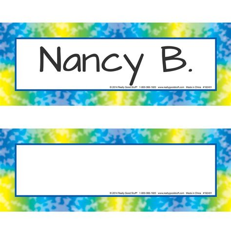 Student Desk Name Tags Hostgarcia Name Tags For Students Desks
