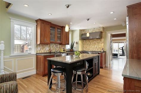 two tone cherry kitchen cabinets traditional two tone kitchen cabinets 186 kitchen design ideas org two tone kitchens with