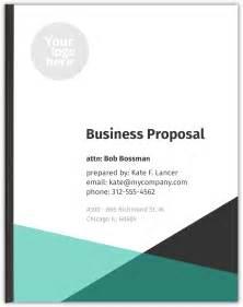 business proposal template freelancer templates
