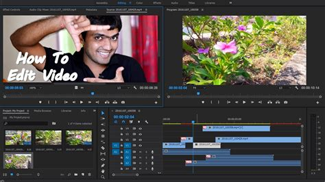 vegas pro tutorial in hindi ep 01 how to edit video premiere pro tutorial for