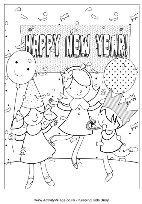 new year colouring pages preschool preschool new year coloring pages best coloring pages