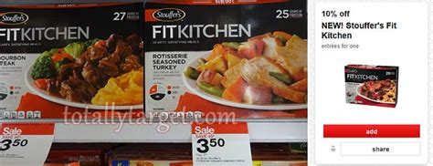 Stouffers Fit Kitchen Price Target Stouffer S Fit Kitchen Entrees 1 92 Each After