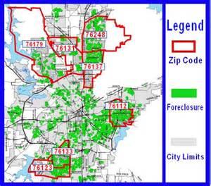 fort worth grant money zip code map