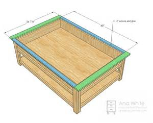 Coffee Table Layout Model Coffee Table Plans House Design And