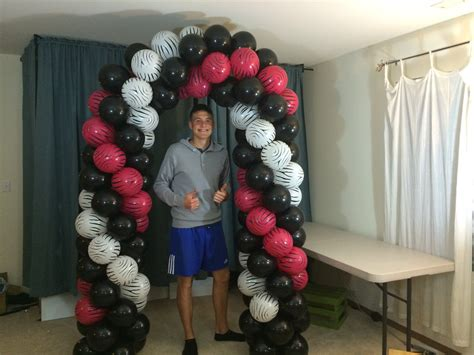 How to make a balloon arch without helium youtube