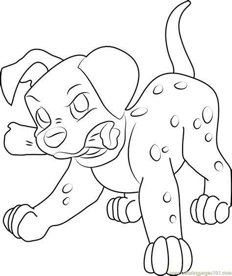 dalmatian puppy coloring page angry dalmatian puppy coloring page free 102 dalmatians