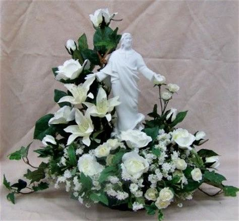unique floral delivery unique funeral flowers flower arrangement in white