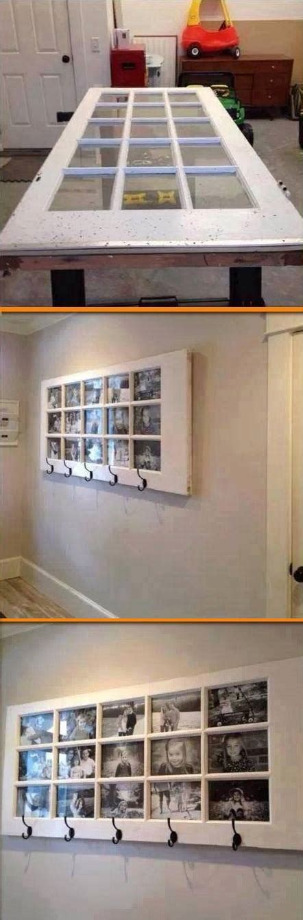 diy door frame awesome way to reuse an old door unique picture frame