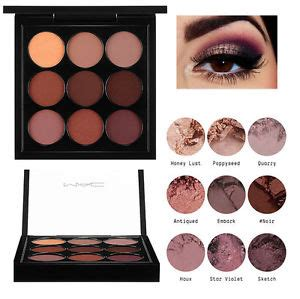 Eyeshadow X 9 Burgundy Times Nine mac eye shadow x 9 burgundy times nine ebay