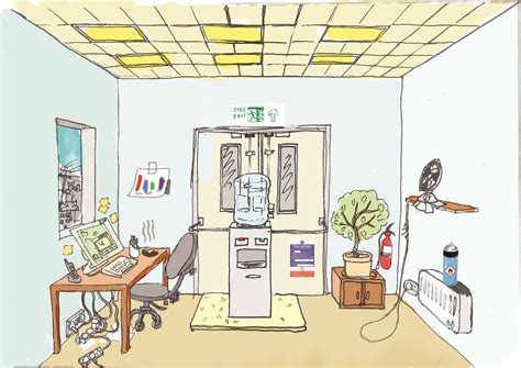spot the health and safety hazards in this illustration