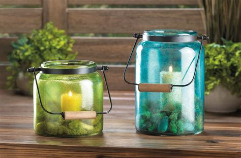 Blue Jar Candle by Blue Jar Candle Lantern Wholesale At Koehler Home Deor
