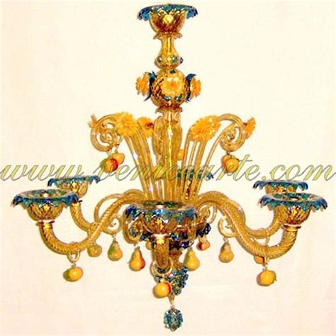 Murano Glass Fruit Chandelier Fruits Venice Glass Chandelier
