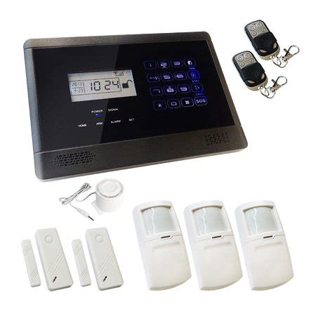 sentry pro touch screen wireless gsm auto house alarm