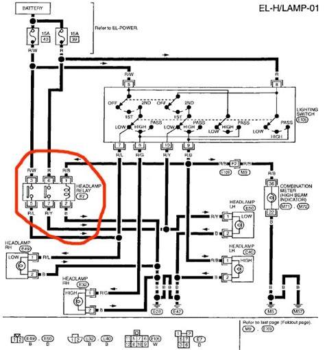 5 best images of nissan 240sx wiring diagram nissan ecu