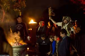 illuminati satanisti inside the horrific mexican satanist black mass daily