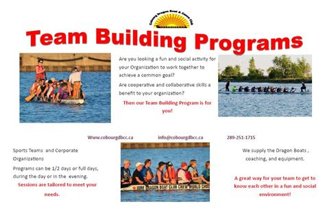 cobourg dragon boat and canoe club team building cobourg dragon boat canoe club