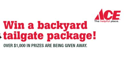 Packers Giveaways - packers best brands backyard giveaway sun sweeps