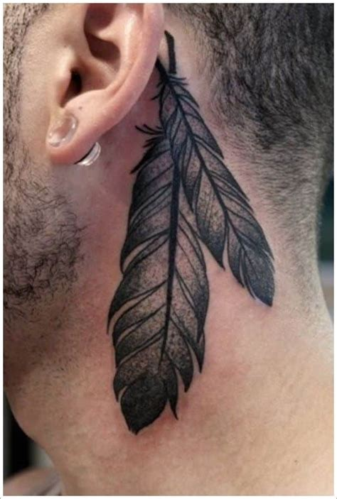 feather tattoo man feather tattoos for men ideas and designs for guys