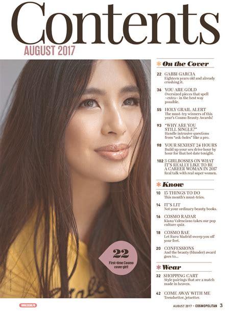 Majalah Cosmopolitan Agustus 2012 jual majalah cosmopolitan philippines agustus 2017 gramedia digital indonesia