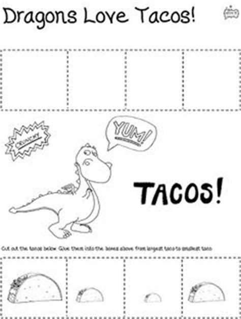 dragons love tacos coloring page 1000 images about kid lit activities and ideas on