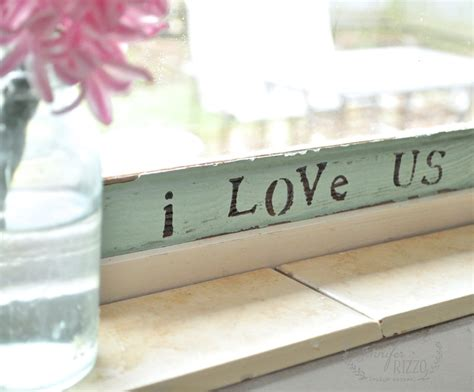 love  story   sweet vintage wood sign craft
