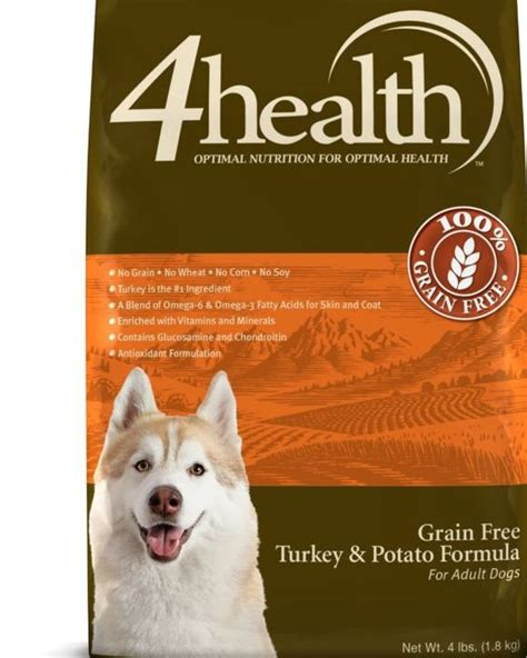 4health puppy 4health grain free turkey potato food 4 lb tractor supply co tractor