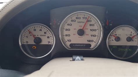 ford f150 check engine light 2005 ford f150 blinking check engine light youtube