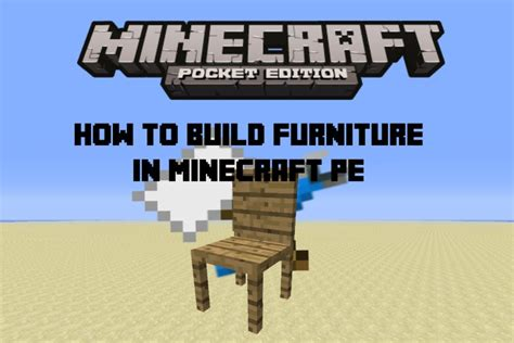 How To Make Furniture In Minecraft Pe how to build furniture in minecraft pe