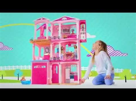 barbie dream house 2015 mattel barbie dream house 2015 doll play furniture set 3 story elevator parts youtube