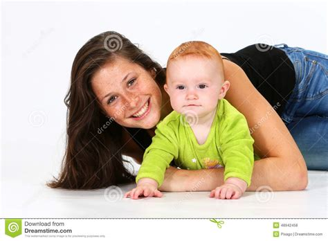 Baby Sitter by Baby And Stock Photo Image 48942458