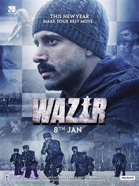 biography of movie wazir farhan akhtar wazir movie poster pics bollywood actor movie