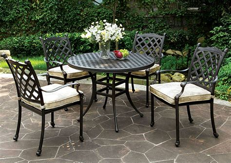 Quality Patio Dining Sets Quality Furniture Wa Chiara Gray Patio Dining