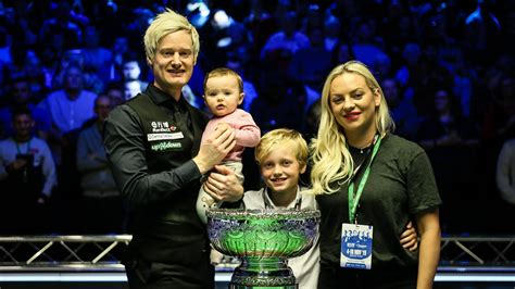 snooker news neil robertson reveals  wife milles depression left  completely helpless