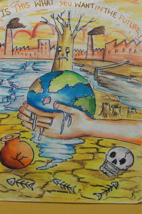themes drawing competition kids climate change posters google search re children