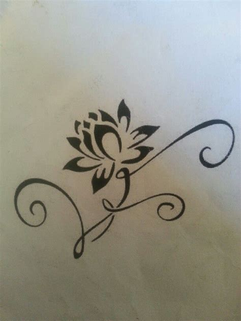 tribal peace tattoos the 25 best tribal lotus ideas on