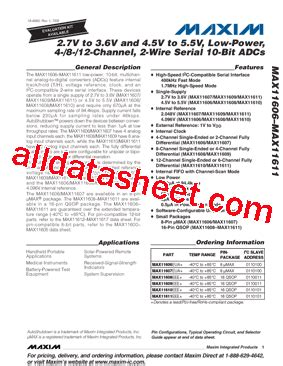 maxim integrated products korea max11608 datasheet pdf maxim integrated products