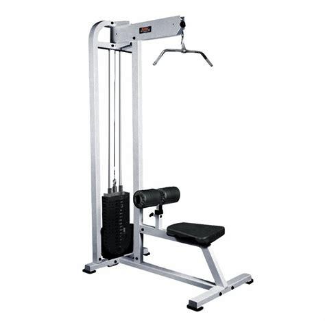 york selectorized lat pulldown machine