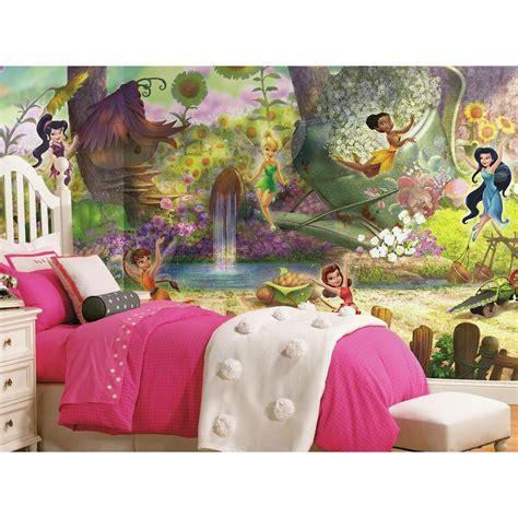 disney roommates wallpaper roommates 72 in x 126 in disney fairies pixie hollow