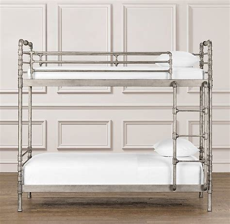 Restoration Hardware Industrial Steel Pipe Bunk Bed Beds Bunk Beds Restoration Hardware